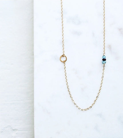 Birthstone Necklace - Halos Collection