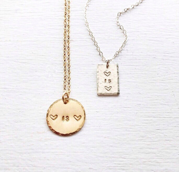 Love is Love Necklace - Customizable