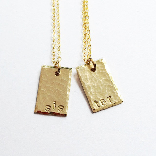 Two Sisters Necklaces Set