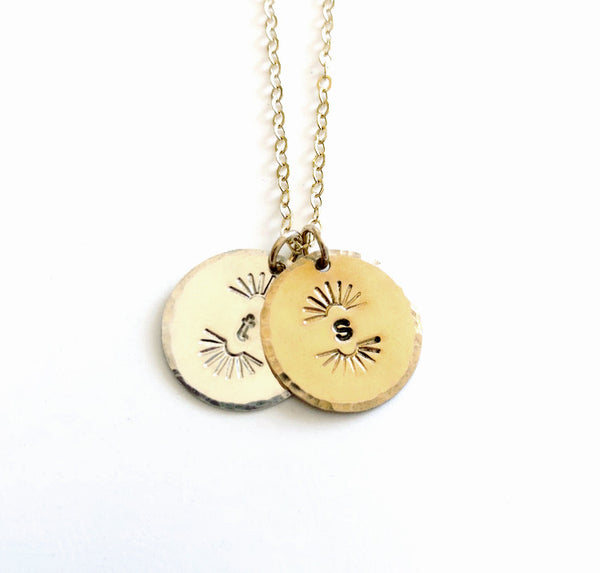 Lightbursts Necklace - Add a pendant