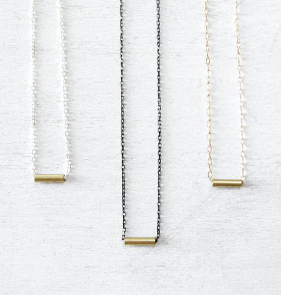 Delicate Sterling Silver Layering Necklace - Minimal Dainty Chain Necklace