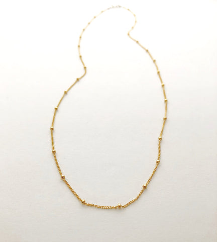 Grace Necklace - Single Strand Chain Option