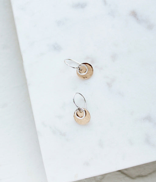 Short Circle Earrings - Halos Collection