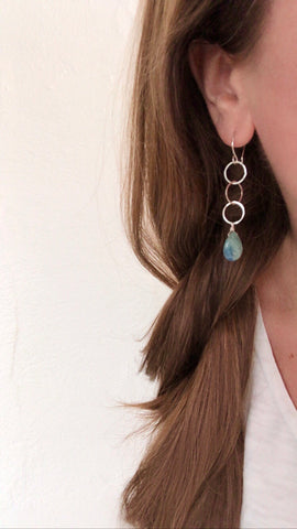 May 2, 2020: Kyanite Marlie Earrings