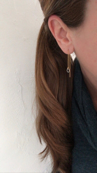 April 29, 2020: Halo Threader Earrings