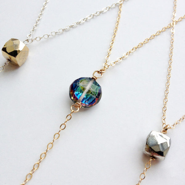 Delicate Lariat Necklace