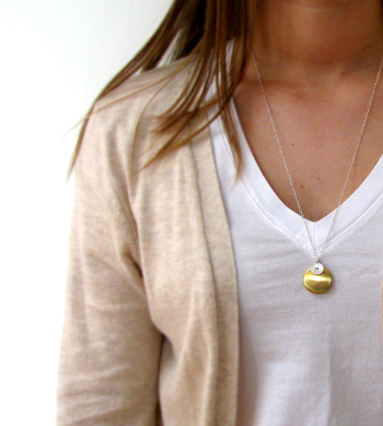 Peace & Plenty Locket Necklace