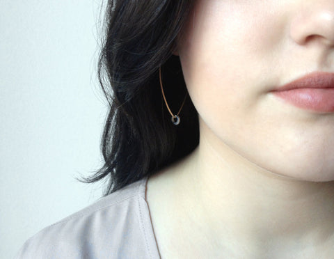Petal Hoop Earrings - Halos Collection