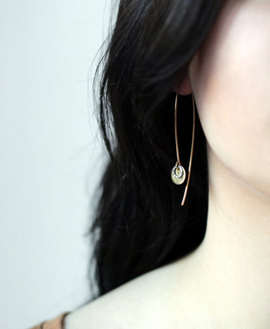 Open Hoop Earrings - Halos Collection