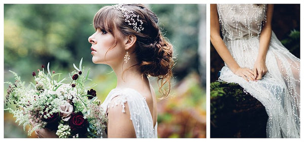 Woodland Elopement Shoot - Miss Gen Photography