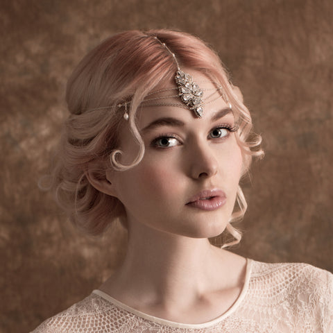 Kelly Spence Gin Fizz Headdress | photo by Lucy Davenport