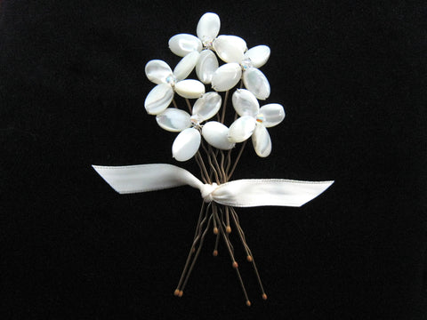 Kelly Spence Blossom Hairpins
