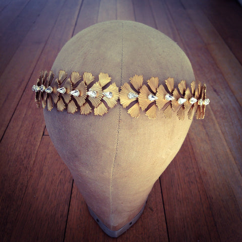 Kelly Spence Golden Dawn Headband