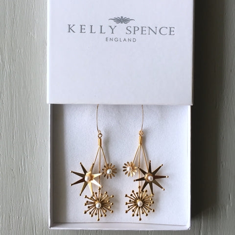 Kelly Spence Shooting Star Earrings