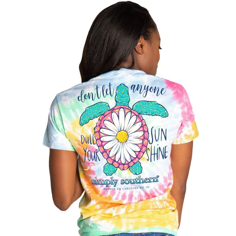 'Don't Let Anyone Dull Your Sunshine' Short Sleeve Tee By Simply Southern