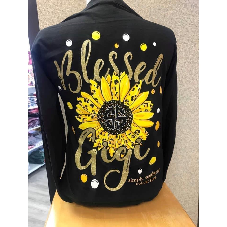 'Blessed' Long Sleeve Shirt by Simply Southern