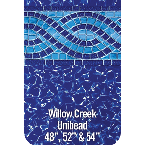 "Above Ground Unibead Liner Willow Creek 52"" Depth"