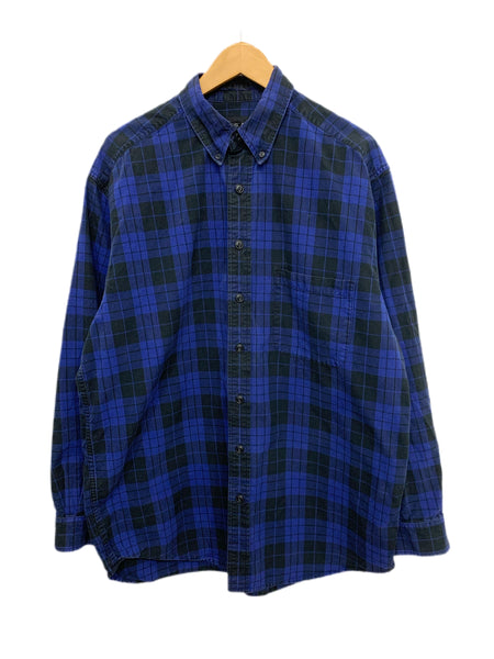 90s Eddie Bauer Plaid Button-Down - size M's Large