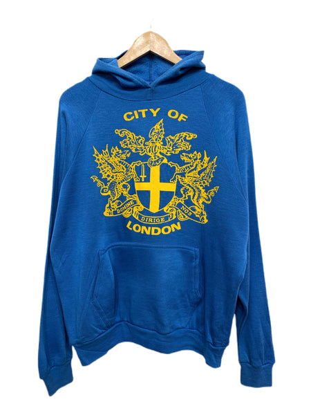 80s City of London Crest Hoodie - size large