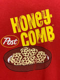 90s Honey Comb printed Gilden T - size XL