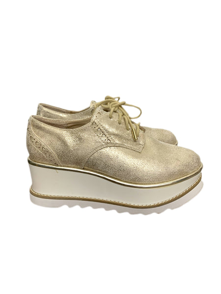 00s Guess Metallic Vegan Creepers - size W's 6
