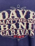 2011 Dave Matthews Band Caravan Tour Shirt - size Large