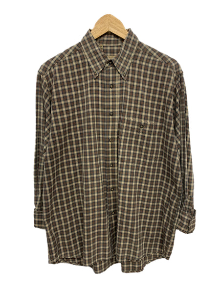 80s International Trading Co Plaid Button-Down - size M's Medium