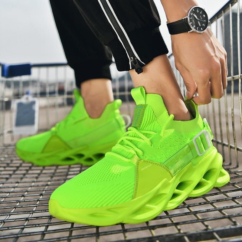 Mesh Casual Sneakers Blade Bottom Shoes