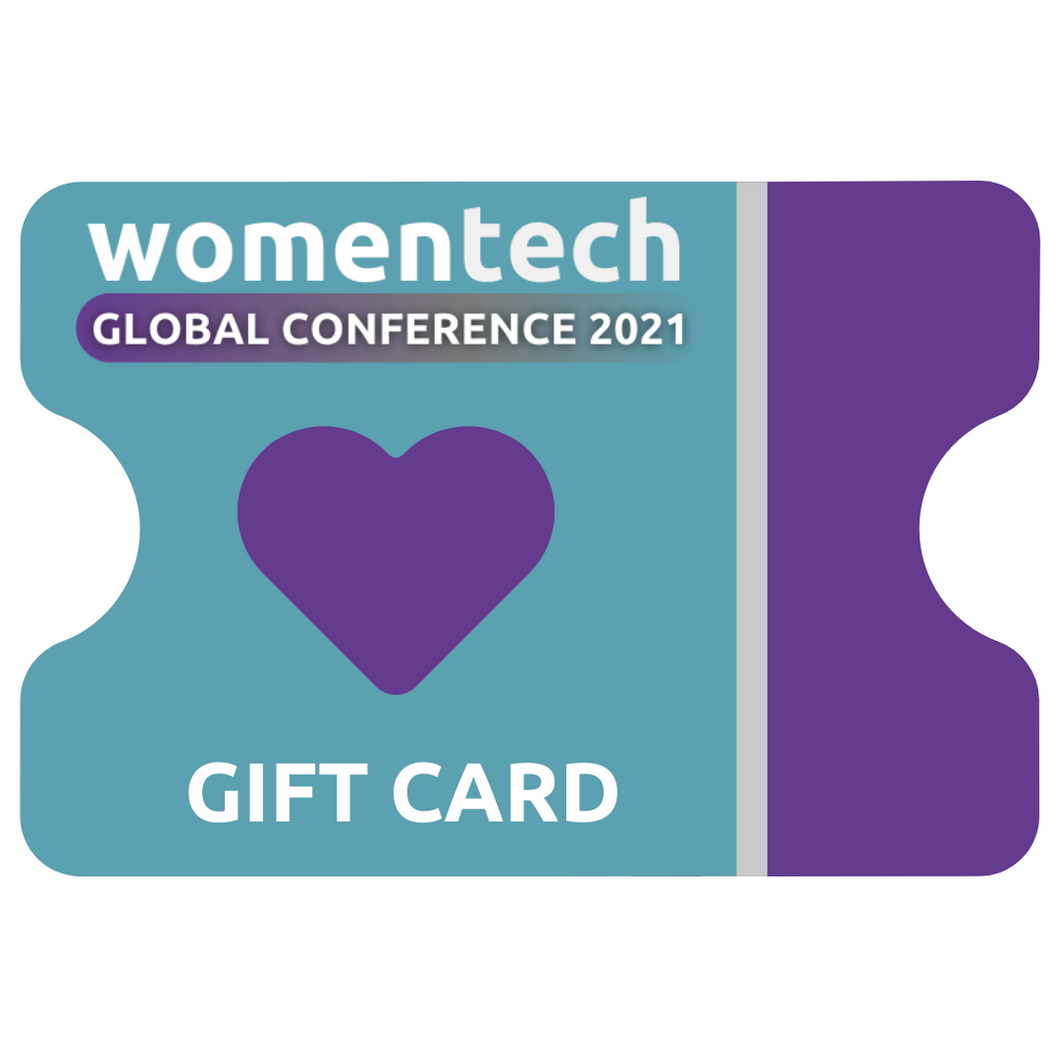 WomenTech Global Conference 2021 Gift Card