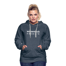 Load image into Gallery viewer, Women's Premium Hoodie - heather denim