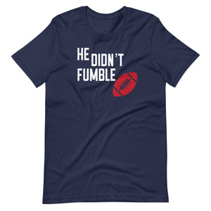 Didn't Fumble Tee (Red/White)