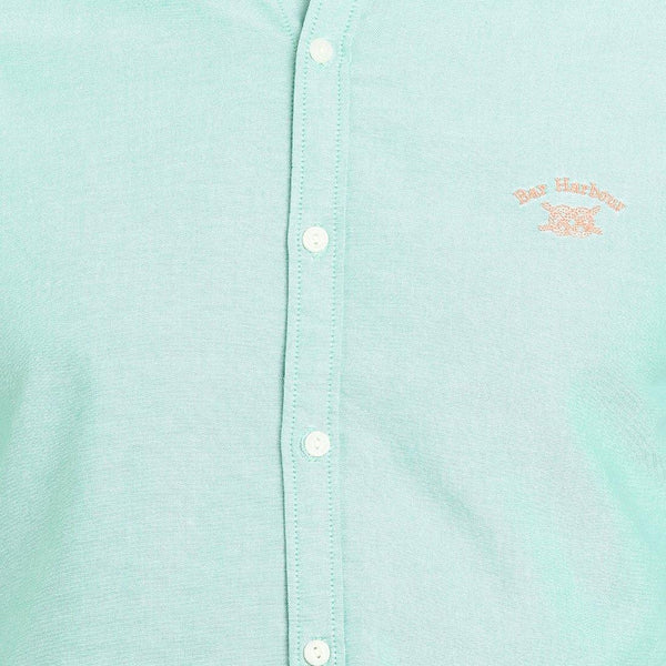 Casual Green Plain Shirt