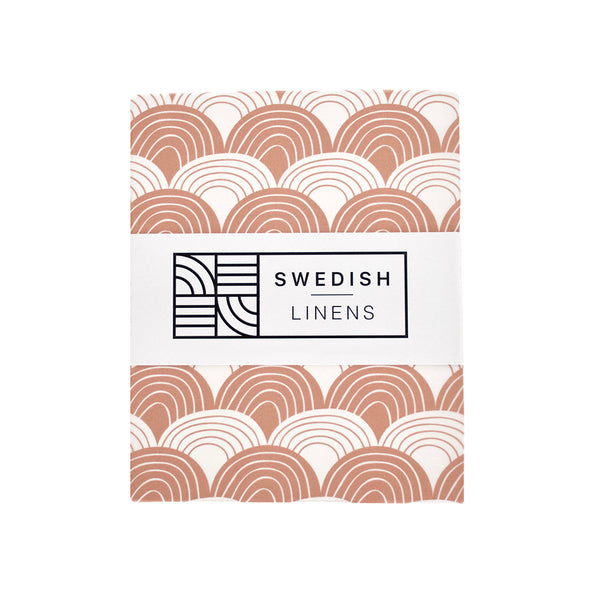 Swedish-linens-rainbows-terracotta-pink