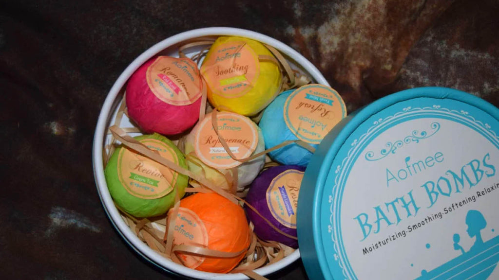 Aofmee Bath Bombs - Luxe Lifestyle