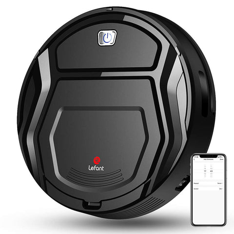 Robot Vacuum With Collision Sensor