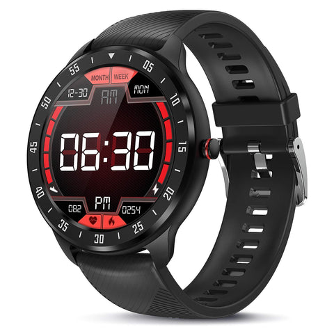 Buy the Black Colored Top Rated Fitness Watches - Luxe Lifestyle Club