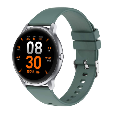 Buy the Best Reviewed Green Colored Fitness Watch -Luxe Lifestyle Club