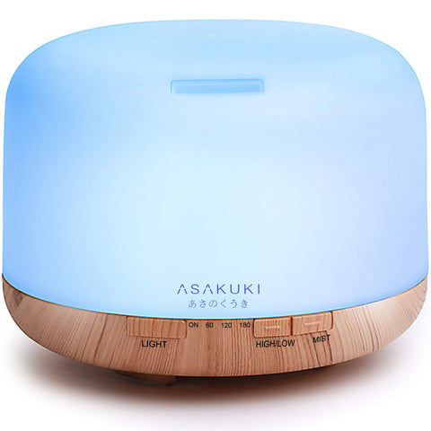 Buy the Woodgrain Best Essential Oil Diffuser - Luxe Lifestyle Club