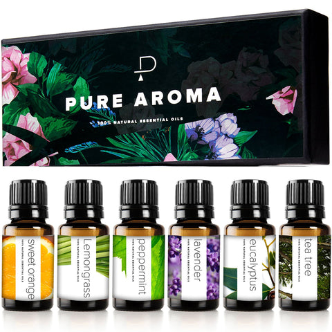 Buy the 6 Pack Complete Set of Essential Oils - Luxe Lifestyle Club