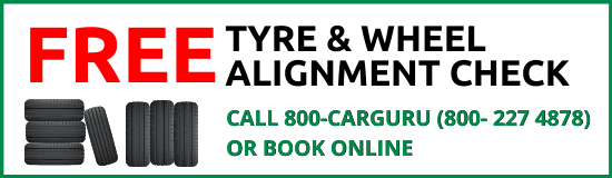 free tyre and wheel alignment check