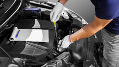how to check the oil level manually