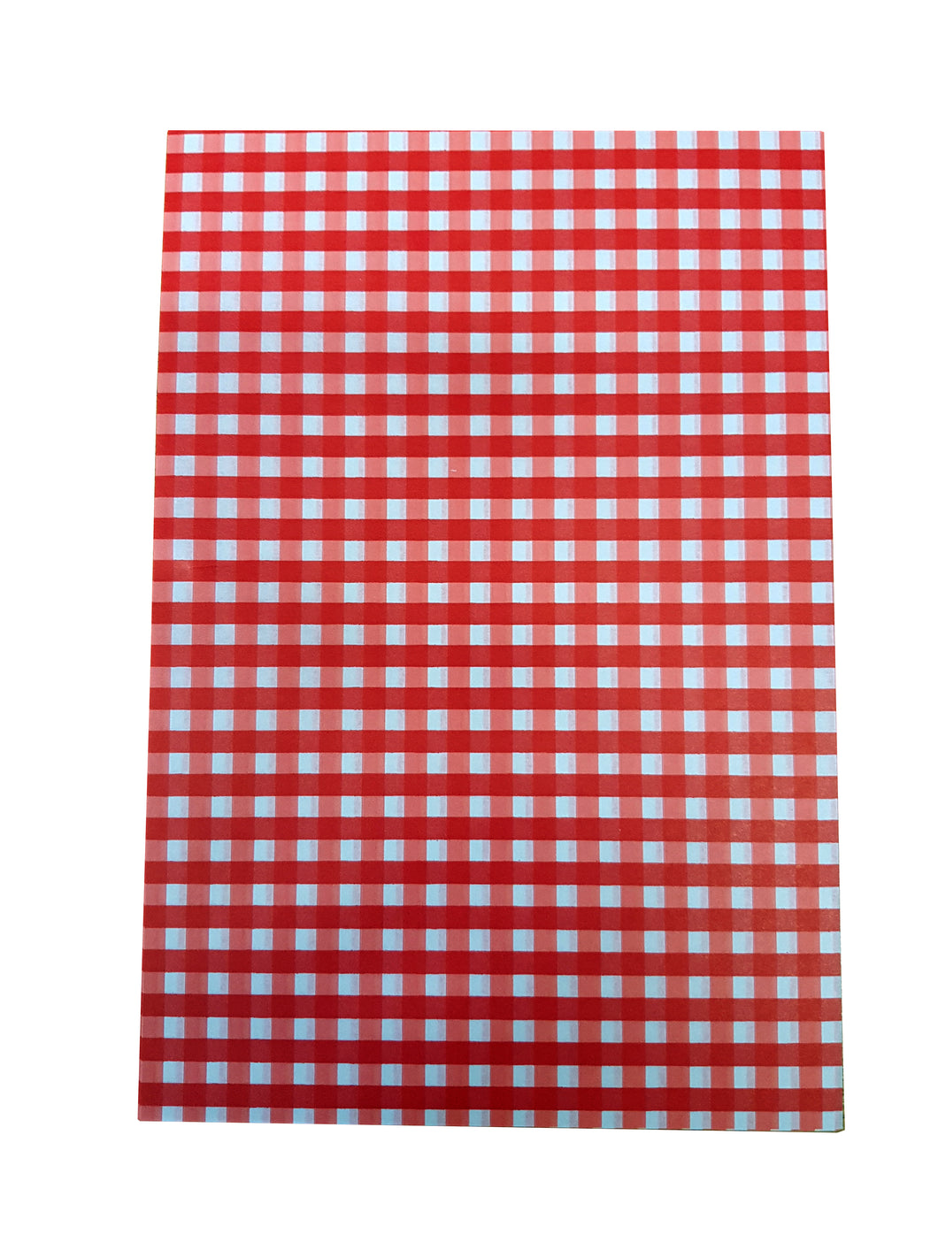 Red Gingham Greaseproof Sheets, Chip & Tray Liners. packs of 1,000