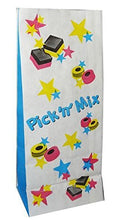 Load image into Gallery viewer, Pick n Mix Candy Sweet Paper Bags. (110mm Wide + 75mm Gusset x 270mm high)