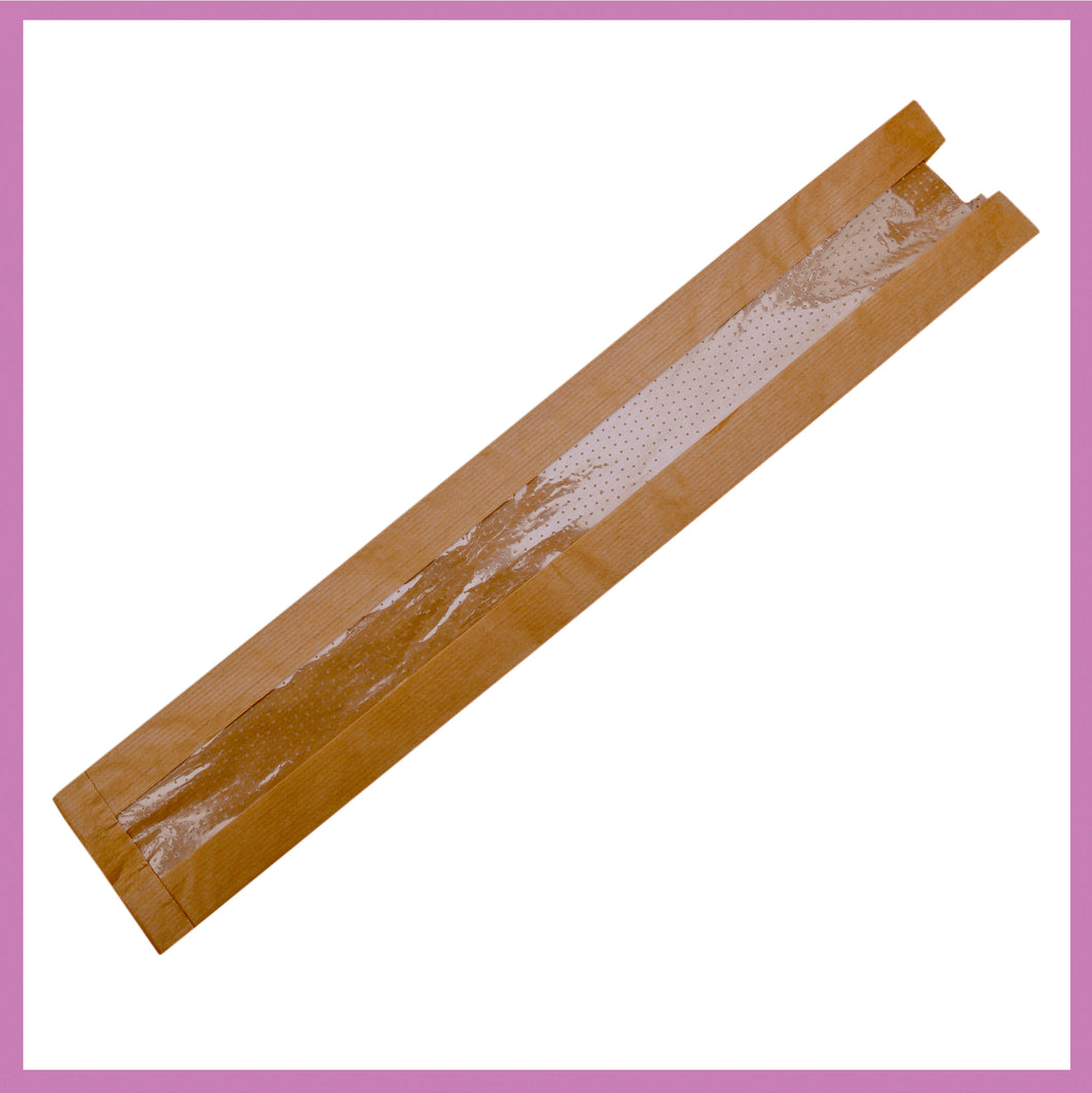 French Stick Bread Bags. Large, Medium & Small Baguette Bag in packs of 1,000 bags