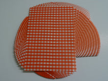 Load image into Gallery viewer, Red Gingham Greaseproof Sheets, Chip & Tray Liners. packs of 1,000