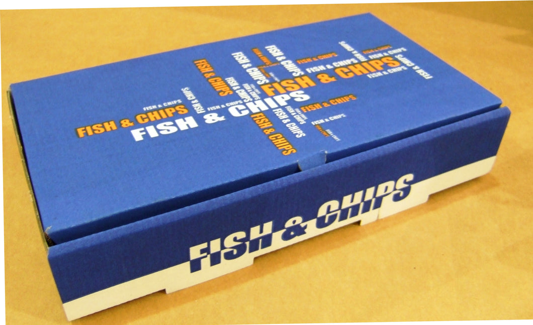 Fish & Chip Boxes x 100