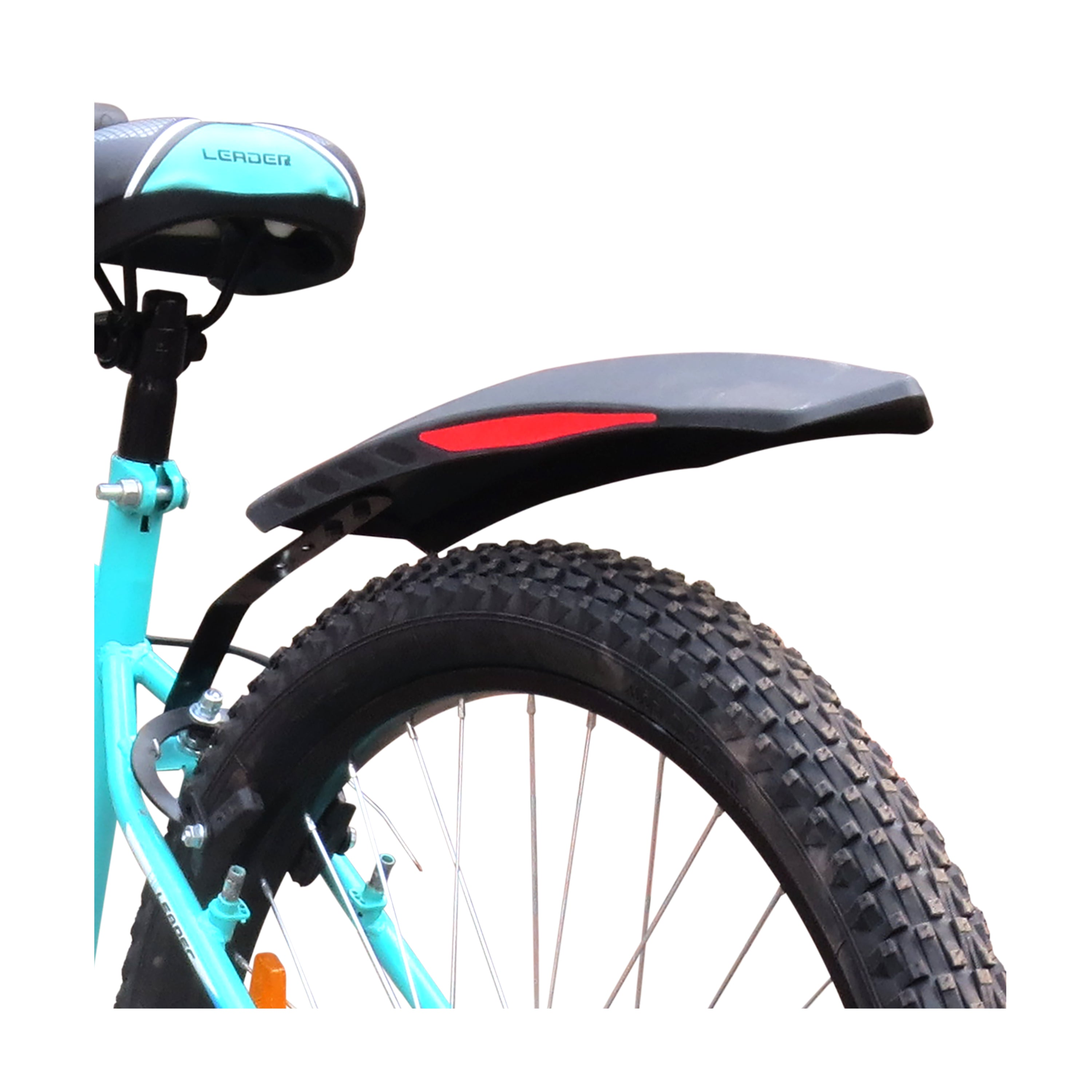 Leader Bicycle Mudguard with Reflective Tape for MTB Cycles