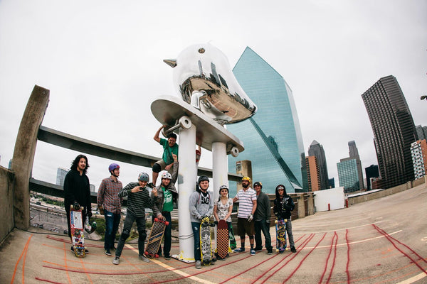 SkaterBIRD with Dallas Skaters