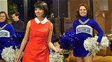 The Midlothian High School Cheer Team lined the studio entrance and energetically greeted guests as they arrived.