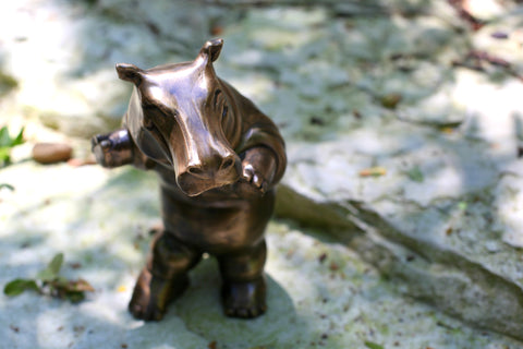 Bronze sculpture by Brad Oldham is the perfect gift.